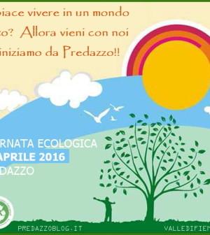 giornata ecologica 2016 a predazzo