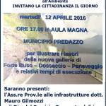 invito per galleria fortebuso aprile 2016 150x150 A primavera la galleria di Fortebuso