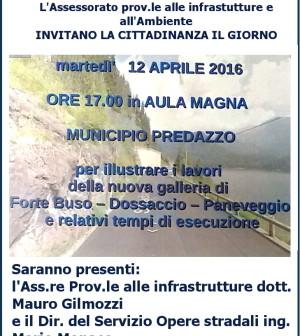 invito per galleria fortebuso aprile 2016