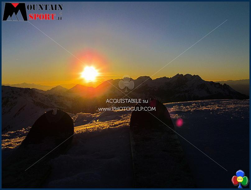 sci alpinismo al tramonto La Sportiva Epic Ski Tour 2017 il Tour de Ski dello Scialpinismo