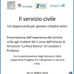 servizio civile fiemme 150x150 Aggiungi un pasto a tavola: progetto di conciliazione familiare