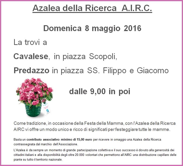azalea airc fiemme Serate informative: Fragilità e Risorse, verso stili di vita positivi