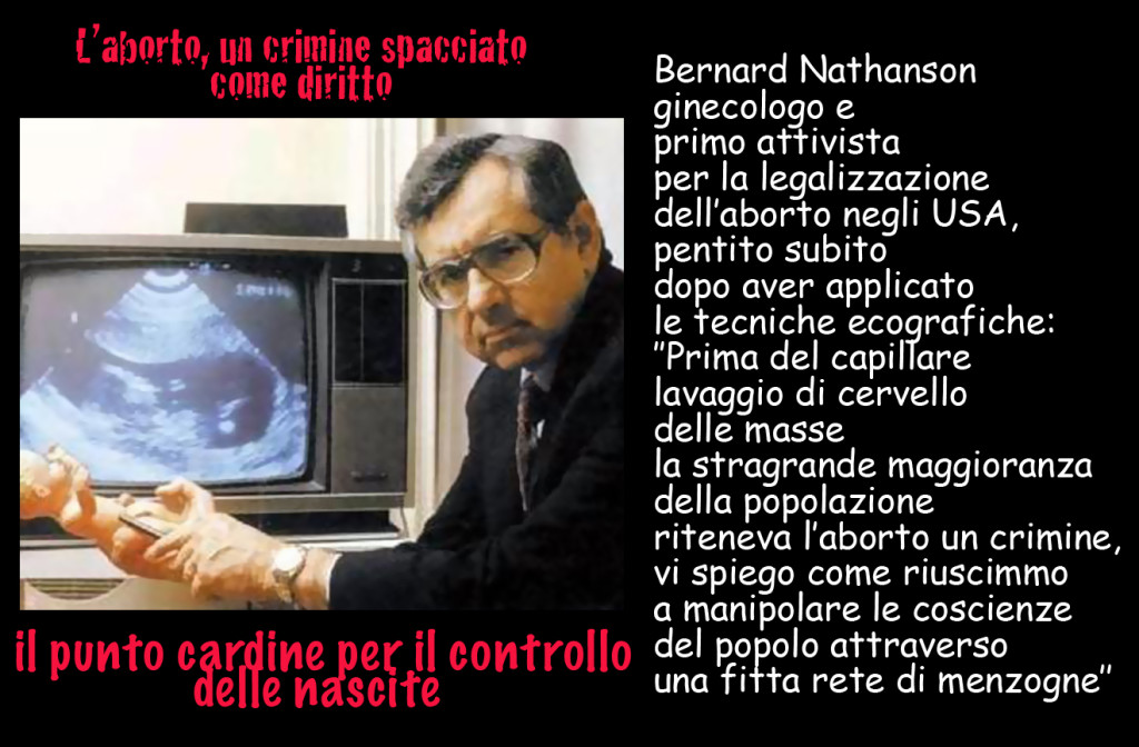 bernard nathanson 1024x672 Un aborto ogni 5 minuti. Una marcia per fermarlo