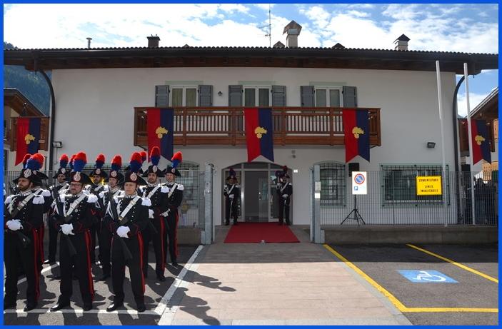 caserma carabinieri predazzo Inaugurata la nuova caserma dei Carabinieri a Predazzo