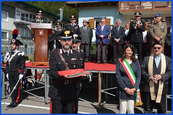 inaugurazione stazione carabinieri predazzo Inaugurata la nuova caserma dei Carabinieri a Predazzo