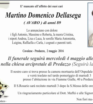 martino domenico dellasega