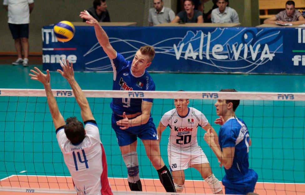 Volley maschile, amichevoli nazionali Italia / Australia