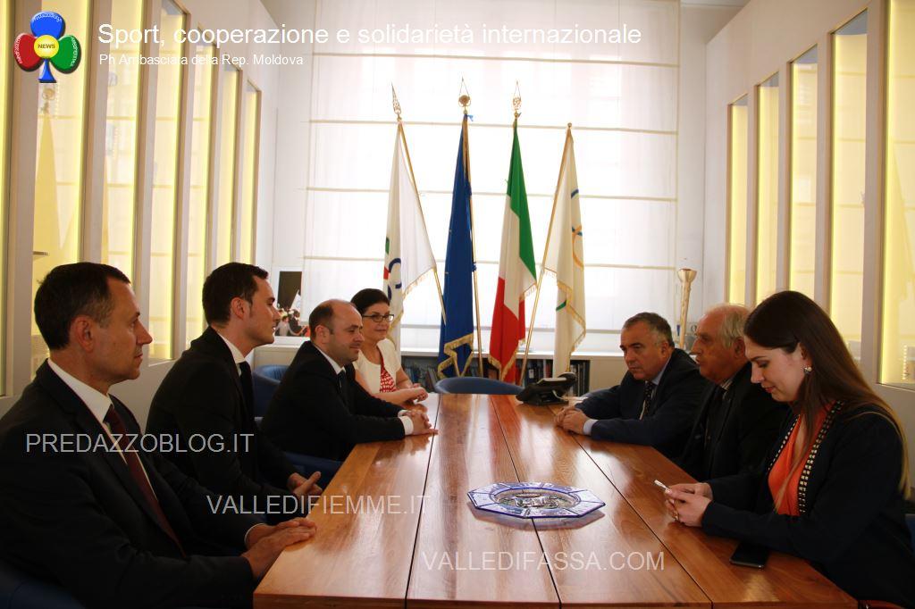 Ambasciata Repubblica Moldova Sport cooperazione e solidarietà internazionale6 Sport, cooperazione e solidarietà internazionale