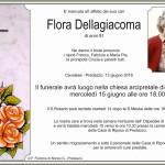 flora dellagiacoma 150x150 Necrologio Romana Giacomuzzi