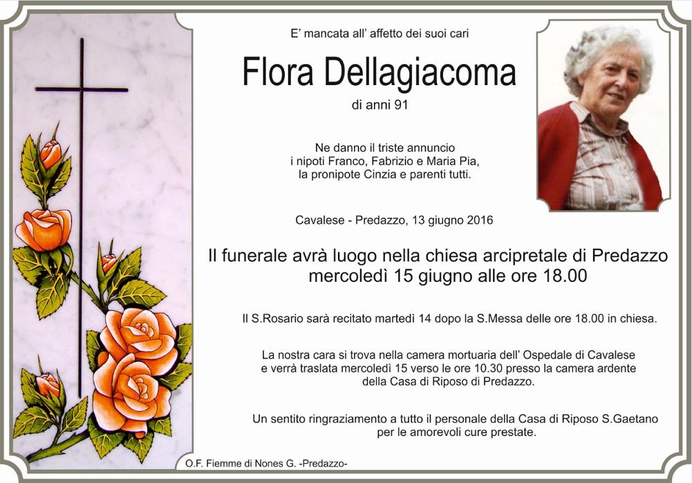 flora dellagiacoma Necrologio Flora Dellagiacoma