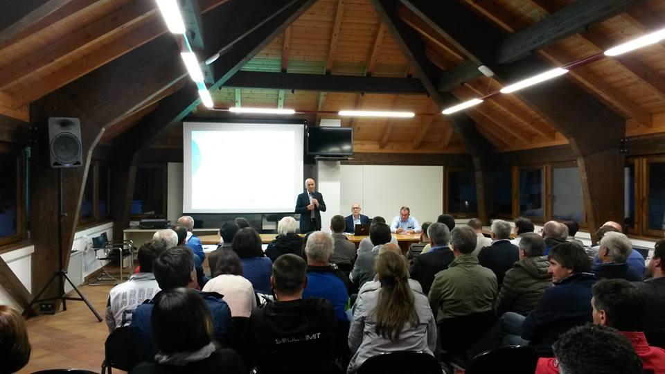 mellarini a tesero legge sport Mellarini presenta in Valle di Fiemme la legge sullo Sport