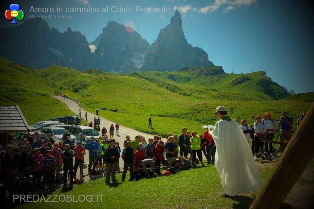 amore in cammino al cristo pensante 2016 pino dellasega5 Amore in cammino al Cristo Pensante delle Dolomiti