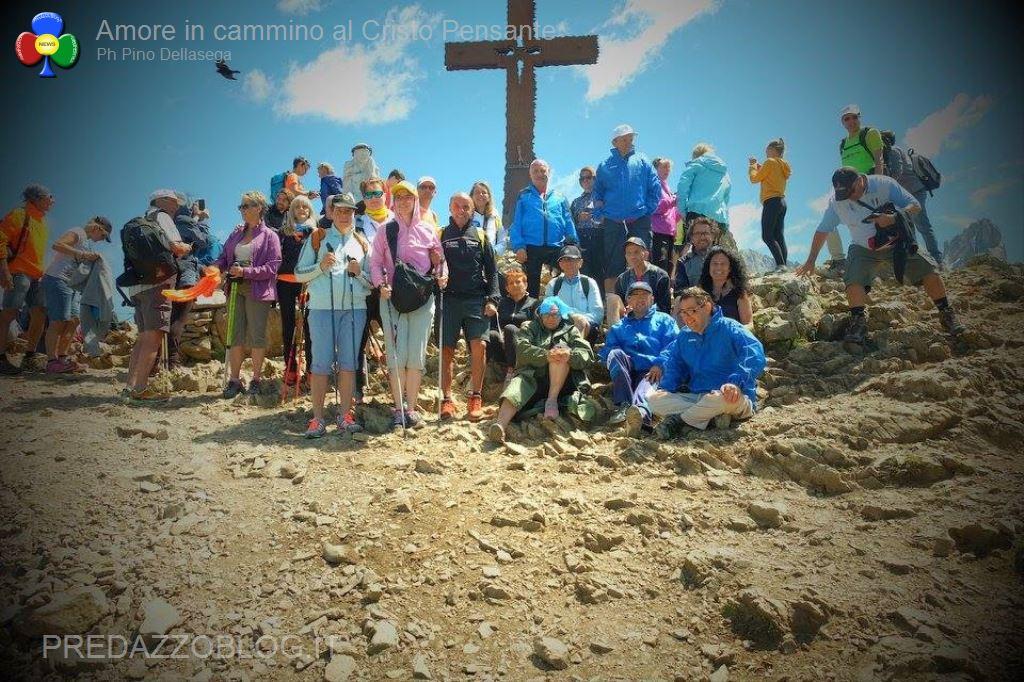 amore in cammino al cristo pensante 2016 pino dellasega7 Amore in cammino al Cristo Pensante delle Dolomiti