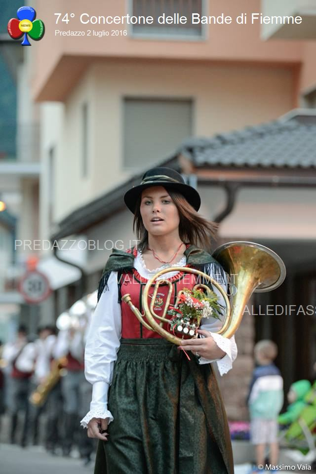 concertone bande di fiemme a predazzo 2.7.2016 ph massimo vaia1251 Successo per il 74° Concertone di Predazzo. Le Foto