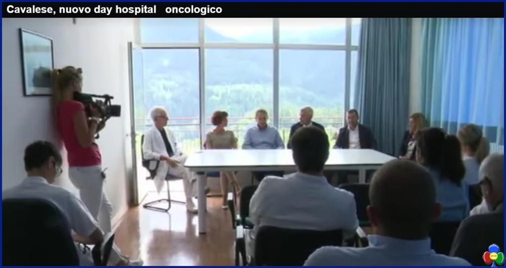 day ospital oncologico cavalese1 1024x544 LOspedale di Fiemme ringrazia la Fondazione Il Sollievo