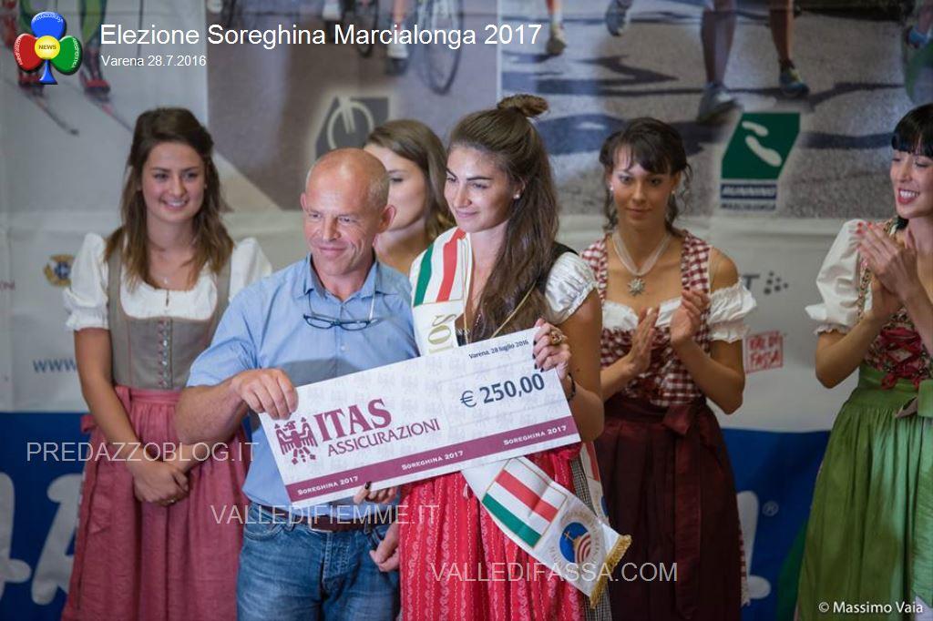 elezione soreghina marcialonga 2017 a varena13 Camilla Canclini è la nuova Soreghina Marcialonga 2017   Foto