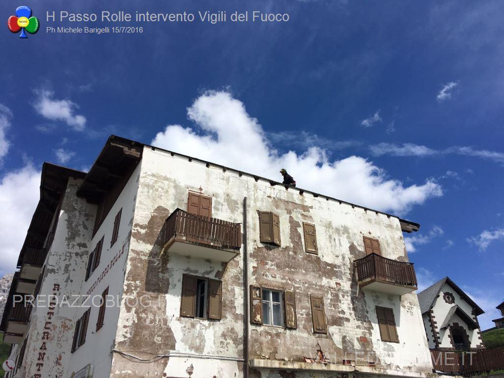 intervento pompieri sul tetto albergo passo rolle11 Lettera di Alfredo Paluselli sul progetto La Sportiva Outdoor Paradise