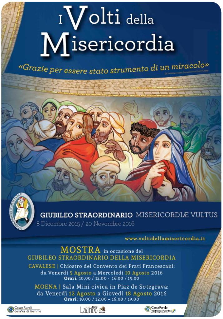 misericordia mostra 715x1024 I Volti della Misericordia a Cavalese e Moena