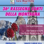 rassegna coro negritella 2016 150x150 Rassegna canti natalizi nella chiesa di Predazzo
