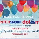 buon compleanno intersport dolomiti predazzo 2016 150x150 Febbraio di sconti alla Libreria Discovery di Predazzo