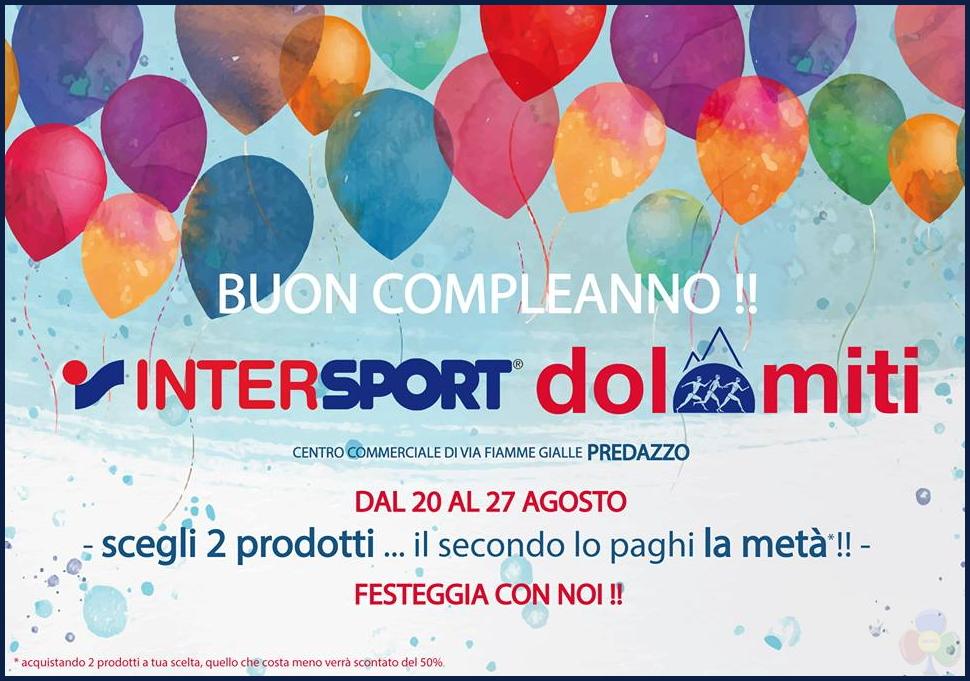 buon compleanno intersport dolomiti predazzo 2016 Buon Compleanno Intersport Dolomiti di Predazzo