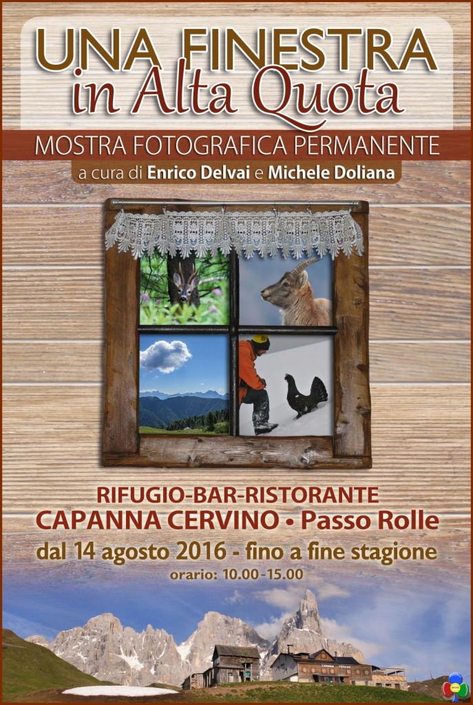 capanna cervino mostra fotografica permanente passo rolle 687x1024 Mostra fotografica permanente a Capanna Cervino