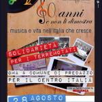 """concerto per il terremoto a predazzo fiemme 150x150 MusicAutunno: a Predazzo """"Note degne di nota"""""""