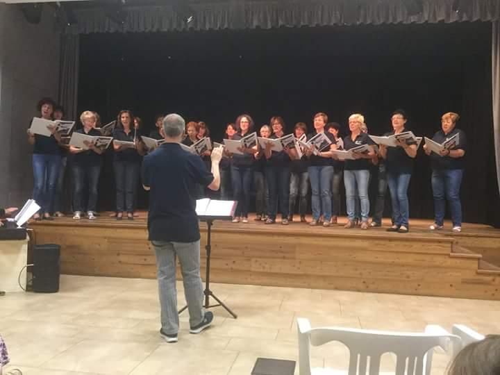coro note blu Note di Mezza Estate, concerto con le Note Blù