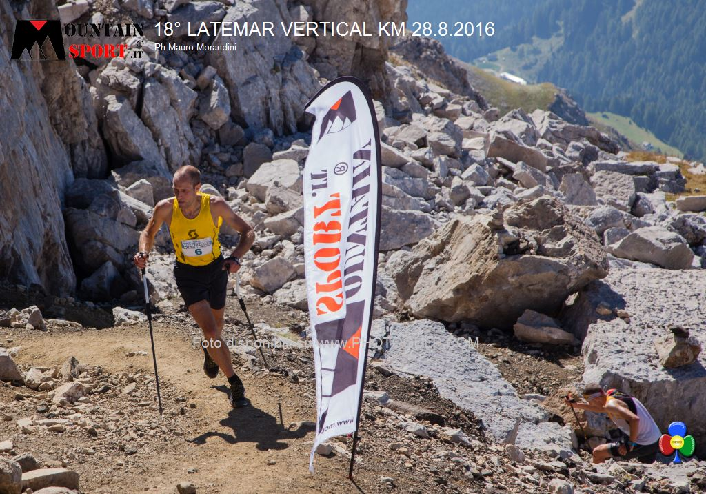 latemar vertical km 2016 predazzo 10 18° Latemar Vertical Kilometer, classifiche e foto