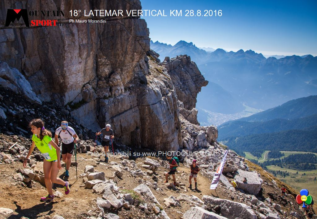 latemar vertical km 2016 predazzo 90 18° Latemar Vertical Kilometer, classifiche e foto