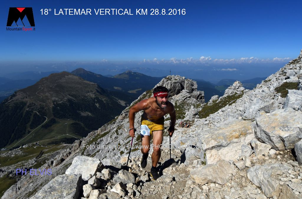 latemar vertical km edizione 2016 ph elvis8 18° Latemar Vertical Kilometer, classifiche e foto