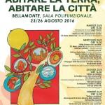 locandina convegno bellamonte abitare la terra abitare la citta 2016 150x150 23 agosto 2013, una targa sul Sassolungo per Danilo Tomaselli