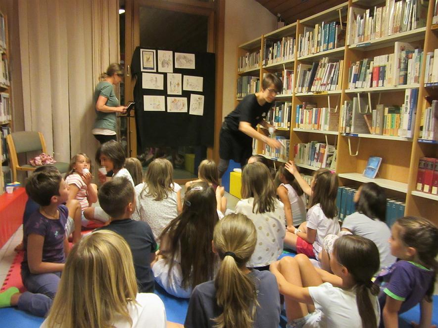 notte in biblioteca predazzo Biblioteca di Predazzo, relazione delle attività 2016