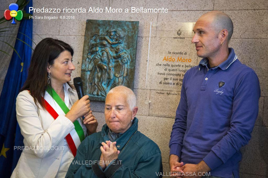 predazzo ricorda aldo moro bellamonte 6.8.16 ph sara brigadoi1 Bellamonte, intitolata ad Aldo Moro la Sala Conferenze