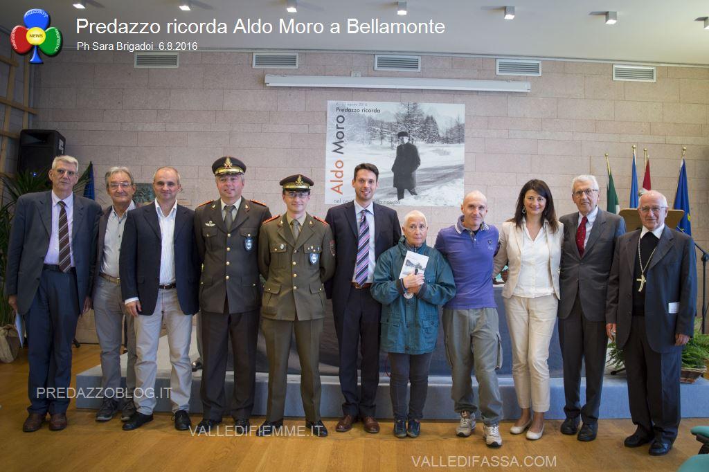 predazzo ricorda aldo moro bellamonte 6.8.16 ph sara brigadoi3 Bellamonte, intitolata ad Aldo Moro la Sala Conferenze