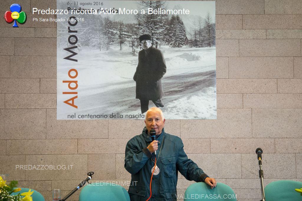 predazzo ricorda aldo moro bellamonte 6.8.16 ph sara brigadoi4 Bellamonte, intitolata ad Aldo Moro la Sala Conferenze