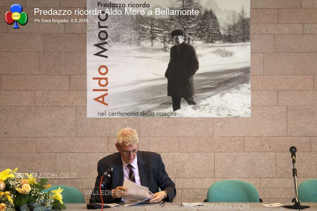 predazzo ricorda aldo moro bellamonte 6.8.16 ph sara brigadoi5 Bellamonte, intitolata ad Aldo Moro la Sala Conferenze