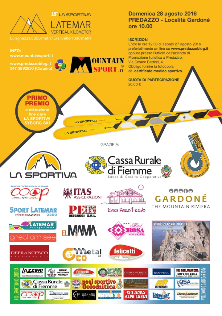 vertical km latemar 2016 predazzo 720x1024 Latemar Vertical Km domenica 28 agosto 2016