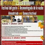 desmontegada 2016 predazzo 150x150 Festival Europeo del Gusto a Predazzo 2/4 ottobre 2015