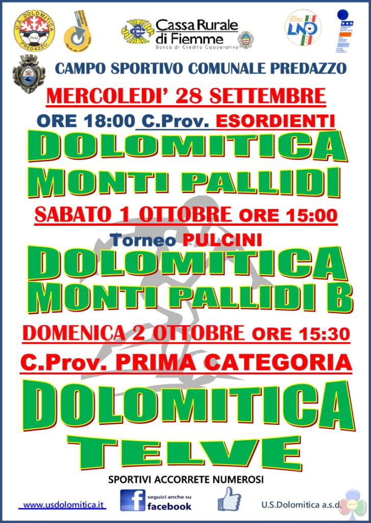 dolomitica monti pallidi partita 727x1024 Dolomitica Calcio, le partite in calendario