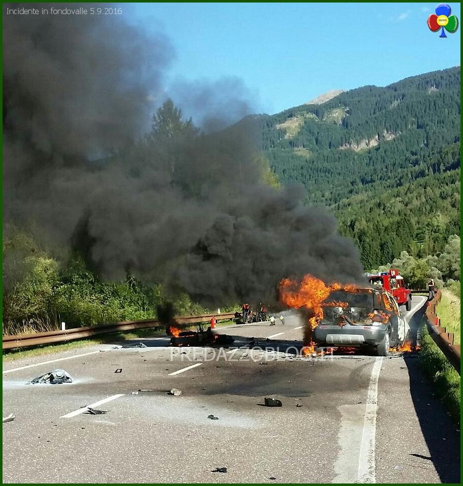 incidente fondovalle panchià 5 settembre 2016 Incidente mortale sulla fondovalle nel tratto di Panchià