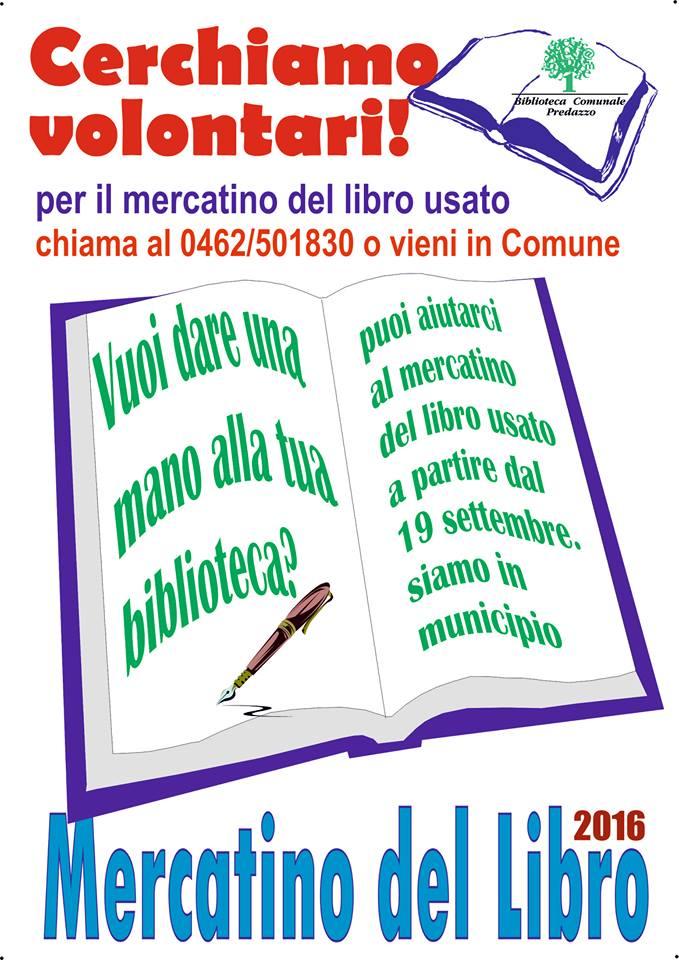 mercatino libro usato predazzo volontari 27 settembre apre il mercatino del libro usato
