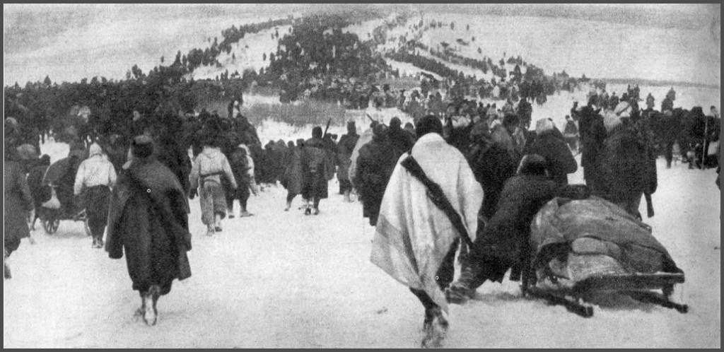 ritirata in russia 1024x498 Kirov, la fossa comune dei soldati italiani dispersi in Russia