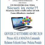 """sicuri in rete predazzo 150x150 Attenti alle truffe """"3″ in collaborazione con la Polizia Postale di Bolzano"""