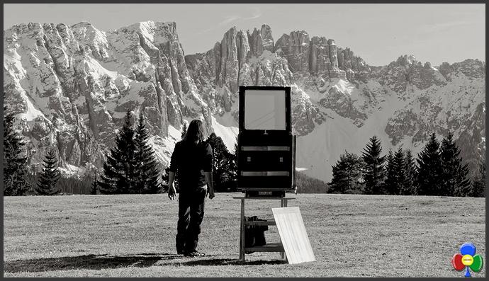 Lightcatcher 1 Lightcatcher ritorno al futuro per fotografare le Dolomiti