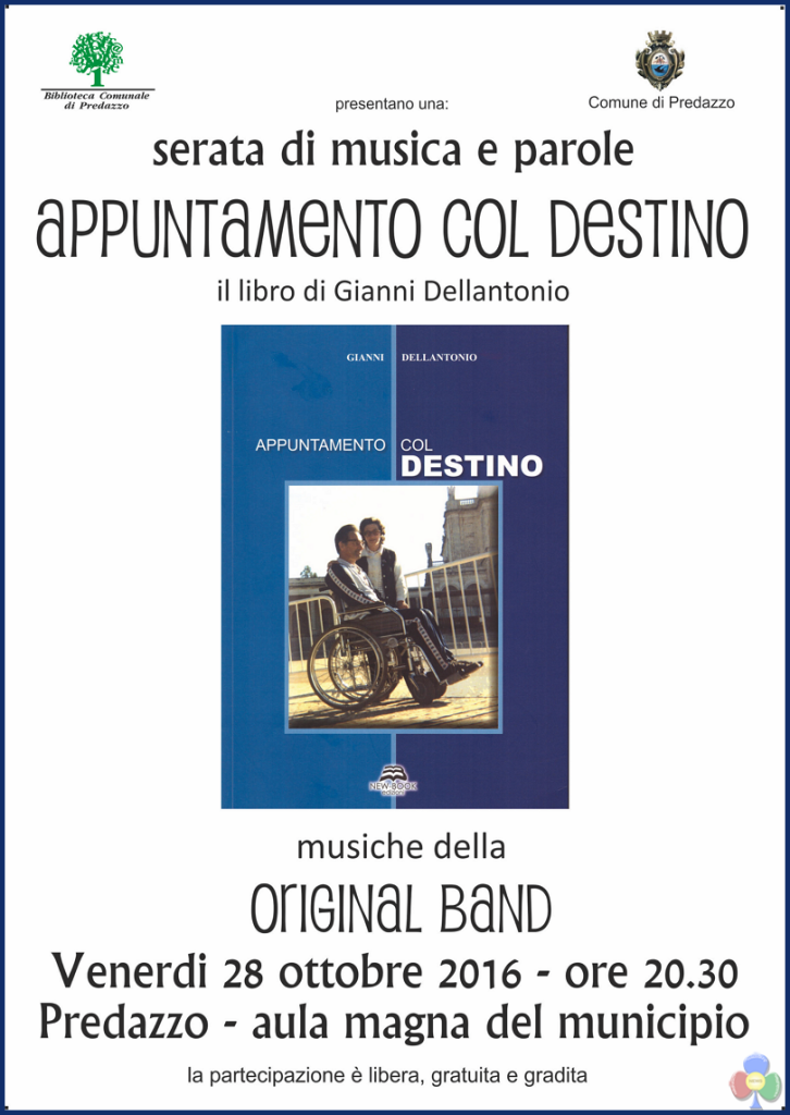 """appuntamento col destino libro gianni dellantonio 726x1024 """"Appuntamento con il destino"""" il libro di Gianni Dellantonio"""