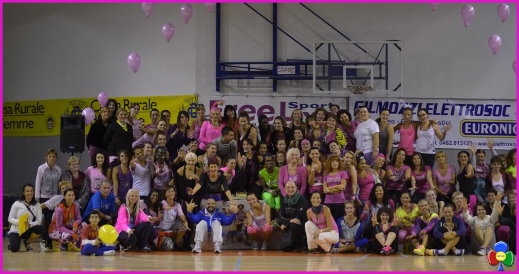 party in pink 2016 stava PARTY IN PINK – Zumbathon. A Stava per la lotta dei tumori del seno
