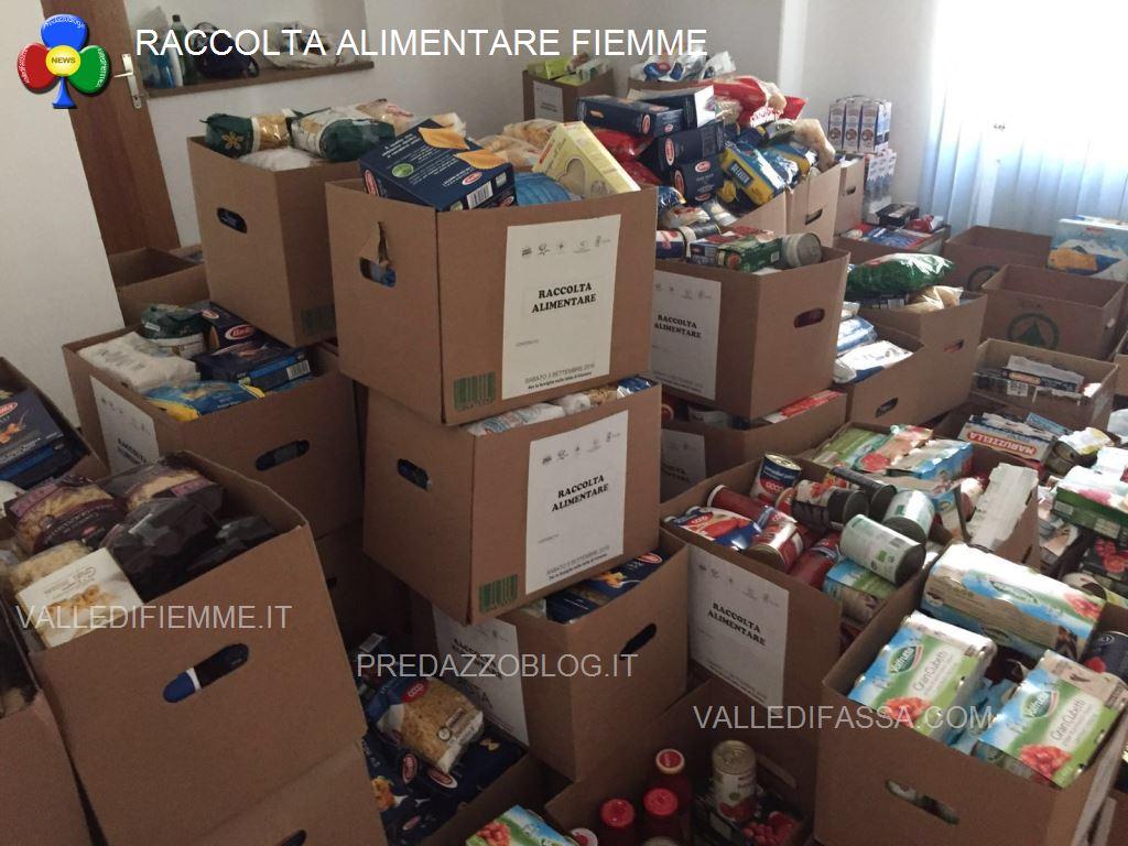 raccolta alimentare fiemme4 6300 kg di cibo dalla Raccolta Alimentare
