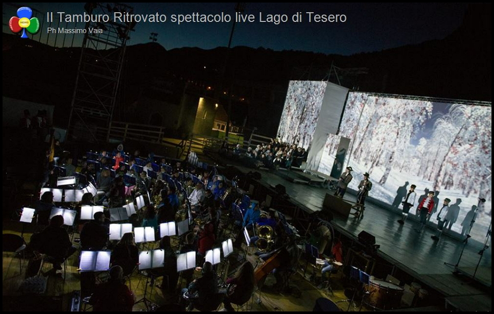tamburo ritrovato proiezioni fiemme 2 Il film musicale Il Tamburo Ritrovato in Tv e nelle sale di Fiemme