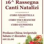 coro negritella predazzo rassegna natale 20161 150x150 Rassegna canti natalizi nella chiesa di Predazzo